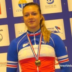 Mathilde Gros, championne de France, championne d'europe et championne du monde junior du 200m, du 5