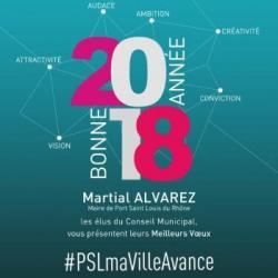 #PSLMaVilleAvance  Cérémonie des Voeux &agrave la population (2)
