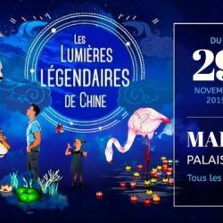 [ Hebdo semaine 48 ] Les lumières Légendaires de Chine illuminent le Palais Longchamps de Marseille
