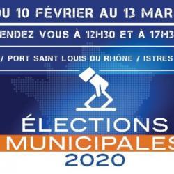 [ ELECTIONS MUNICIPALES 2020 - FOS SUR MER ] , PHILIPPE MAURIZOT, CANDIDAT ( LR ) AU MICRO DE MARION